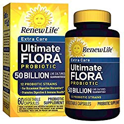 Renew Life Extra Care Ultimate Flora Probiotic – Best For Vaginal Issues