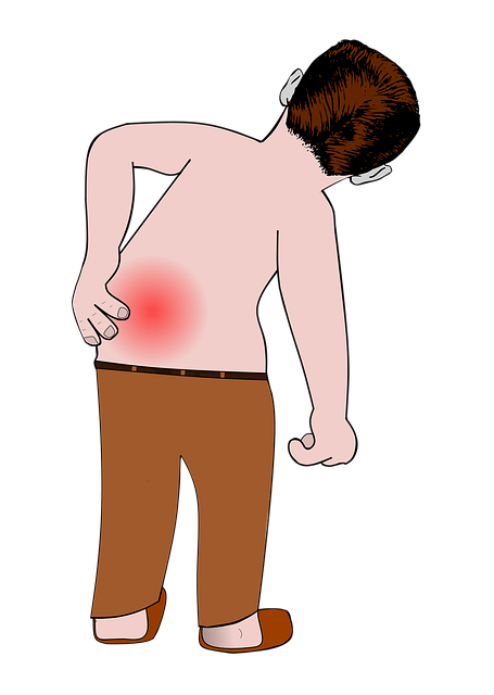 left lower back pain
